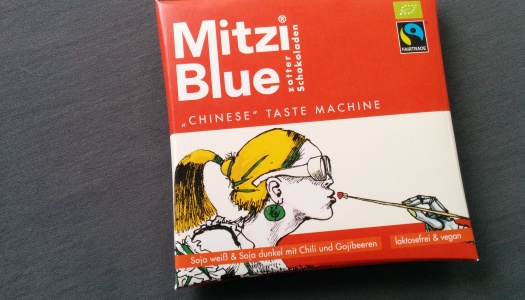 Mitzi Blue Chinese Taste Machine