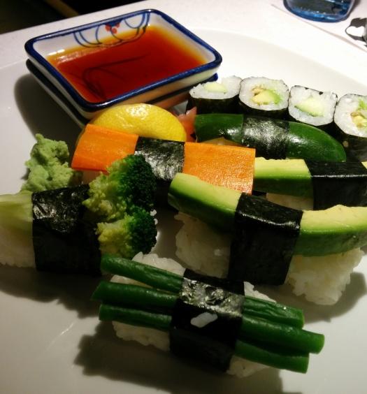 Yasai Sushi (vegan)