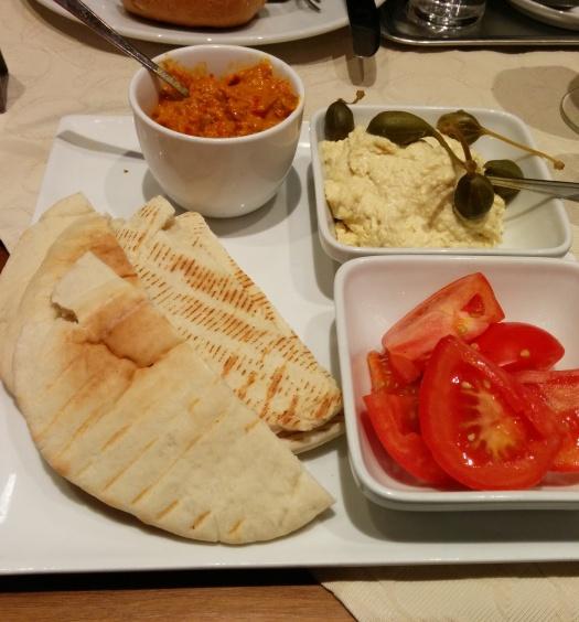 Orientalisches Frühstück (vegan)