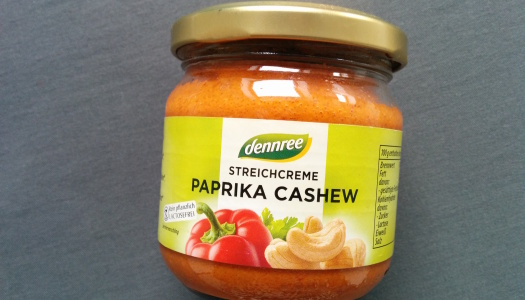 Dennree Streichcreme Paprika Cashew