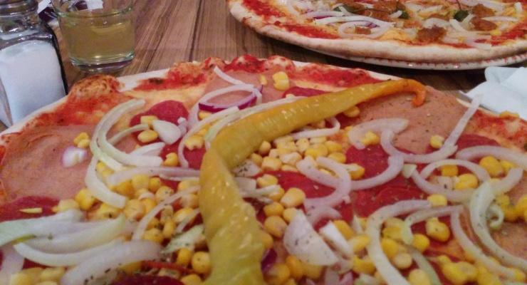 Vegane Pizza Serenata