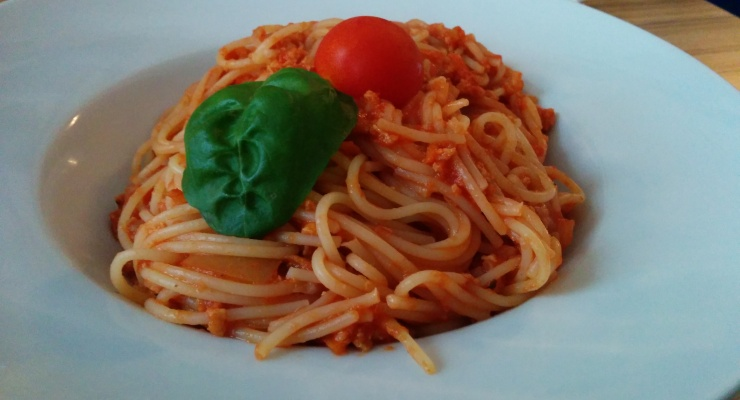 Vegane Spaghetti Bolognese