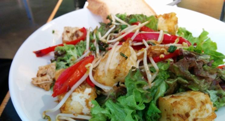Spicy Bio Tofu Salat (vegan)