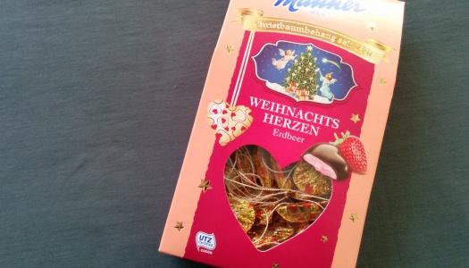 Manner Weihnachtsherzen Erdbeer