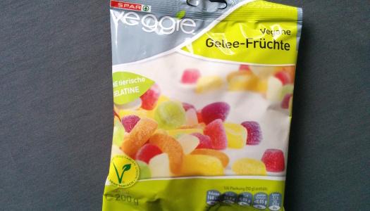 Spar Veggie Gelee-Früchte
