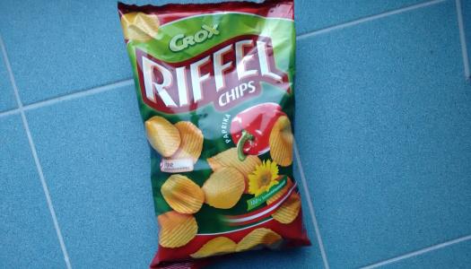 Crox Riffel Chips Paprika