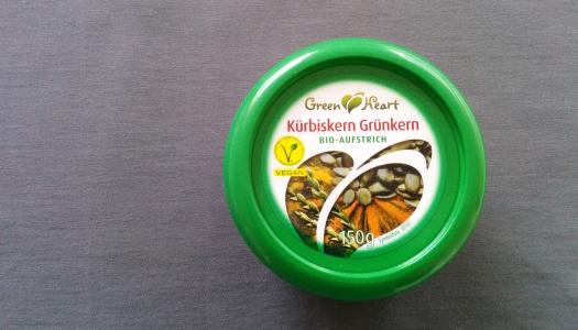 Green Heart Kürbiskern Grünkern Aufstrich