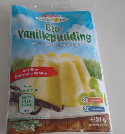 Bio Vanillepudding