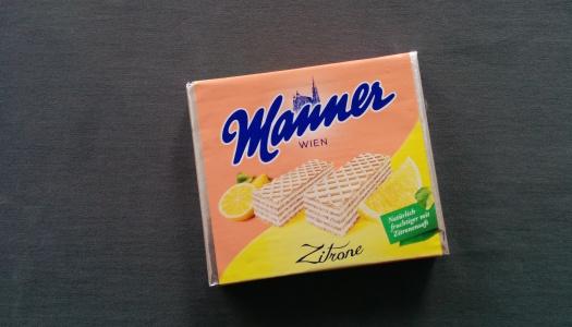 Manner Schnitten Zitrone
