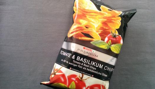 Spar Premium Tomate & Basilikum Chips