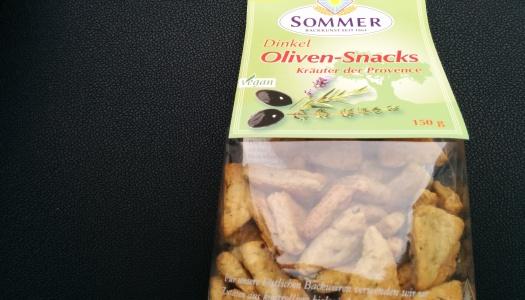 Sommer Dinkel Oliven Snack