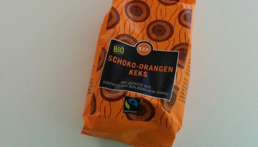 EZA Schoko Orangen Kekse